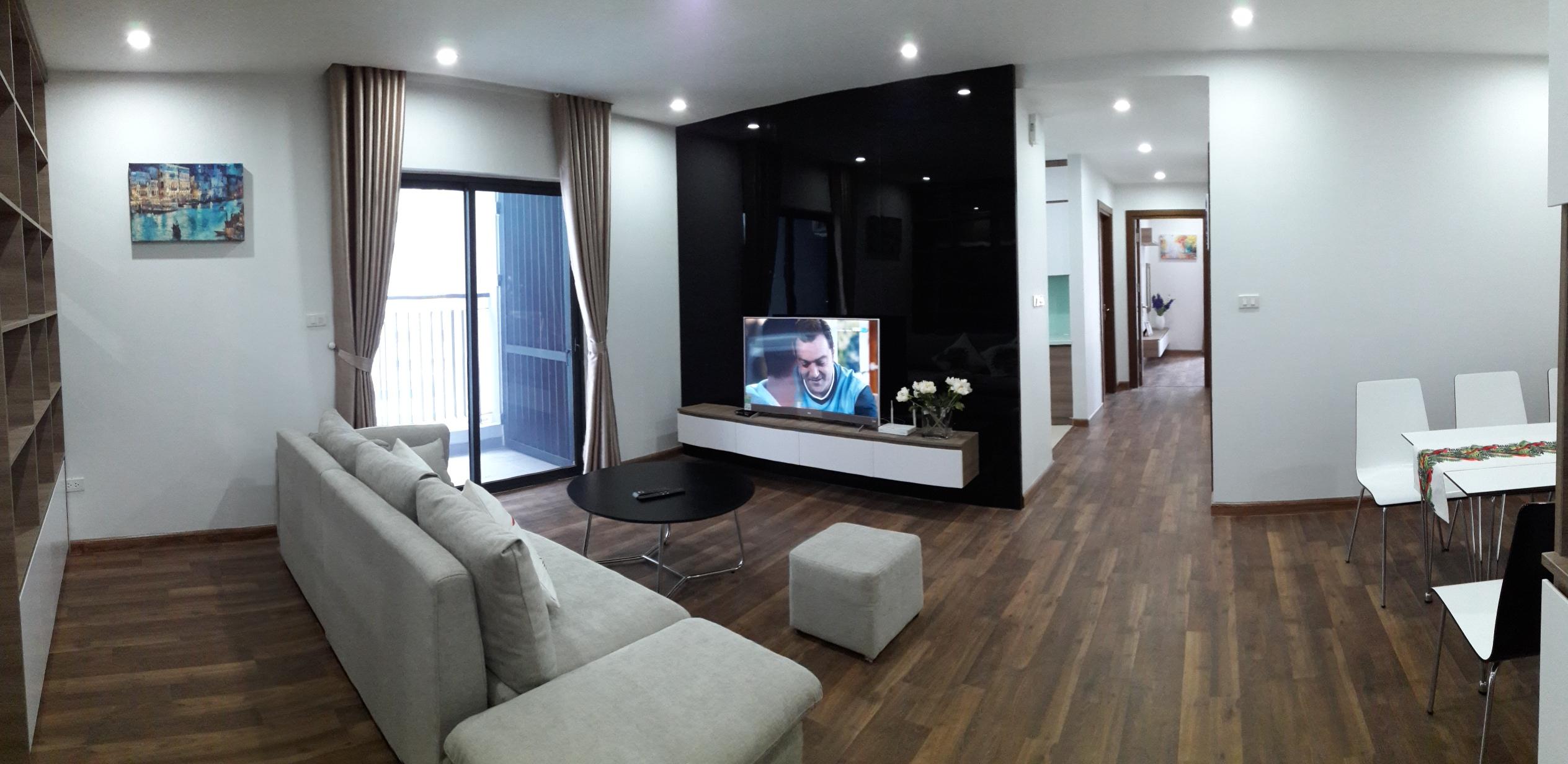 Cho thuê căn hộ 3 phòng ngủ tại Goldmark City