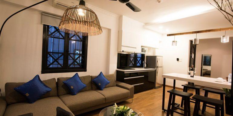 Căn hộ 2 phòng ngủ gần hồ Hoàn Kiếm