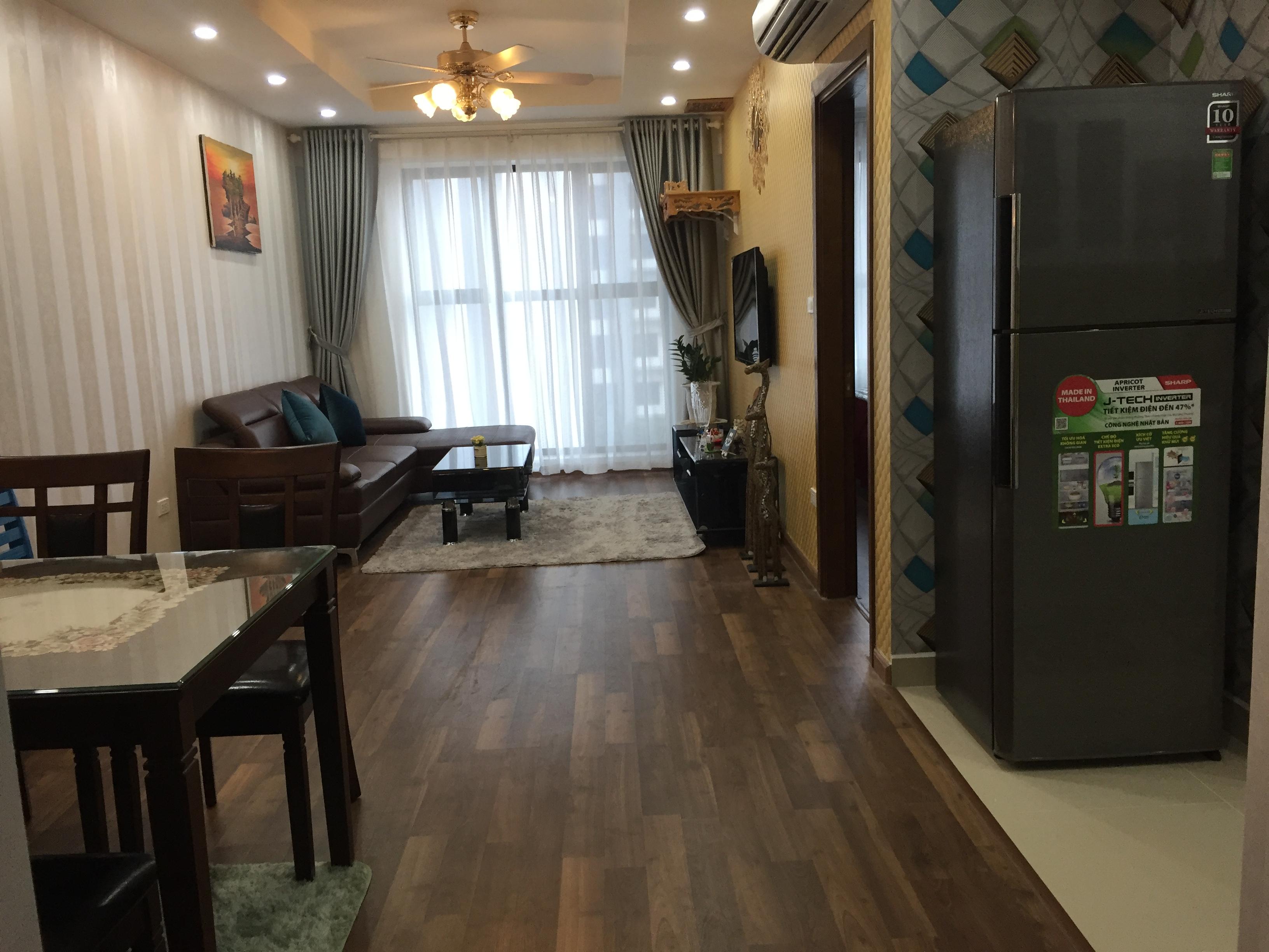 Cho thuê căn hộ full đồ tại Goldmark City