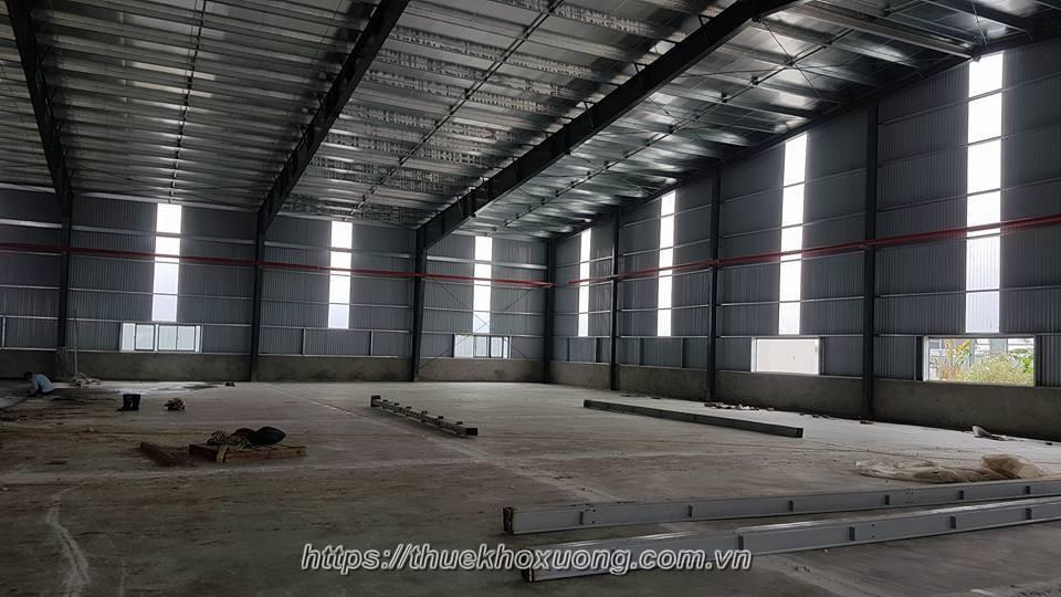 Cho Thuê Kho Xưởng tại Bắc Ninh, Cụm CN Hạp Lĩnh