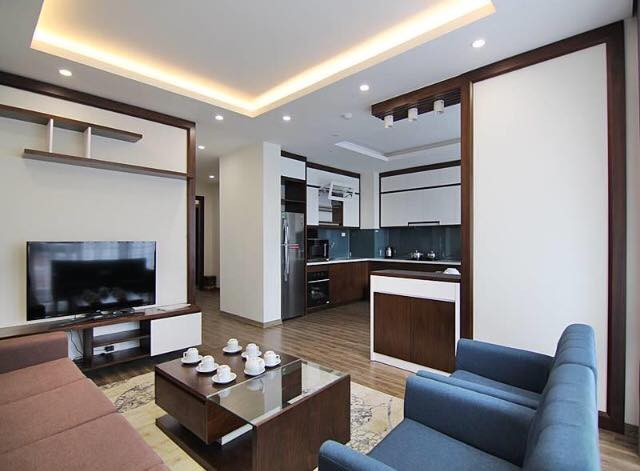 New modern serviced apartment To Ngoc Van street