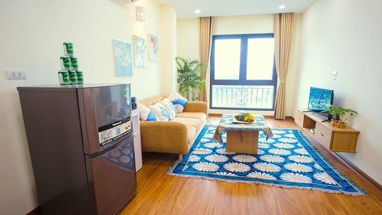 Serviced Apartment near Kim Ma street for rent
