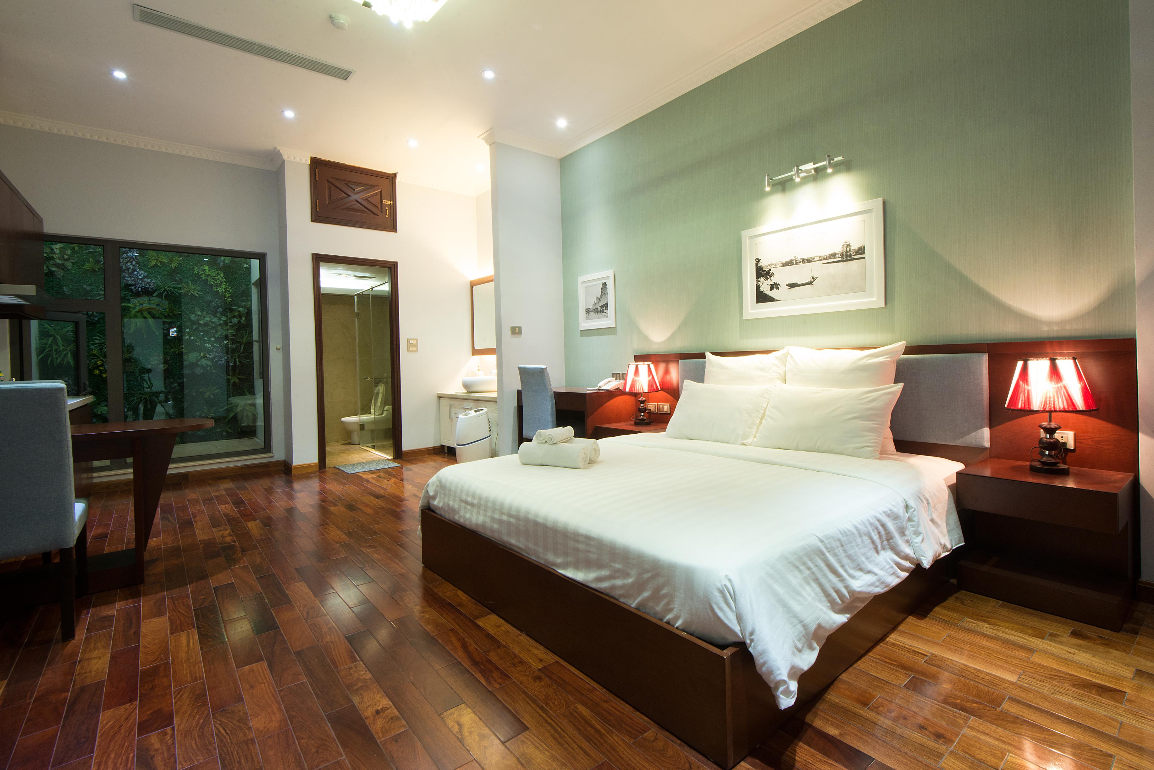 Cho thuê căn hộ Studio gần hồ Trúc Bạch