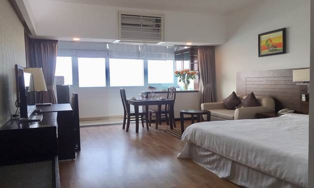 Budget one bedroom serviced apartment Tay Ho Westlake