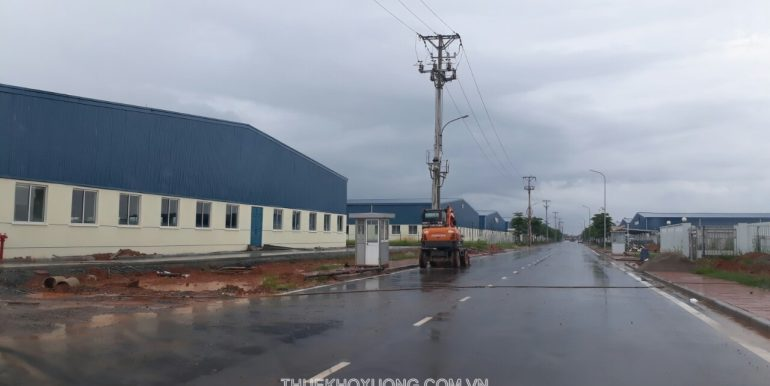 Binh Xuyen industrial park II Factories and Land