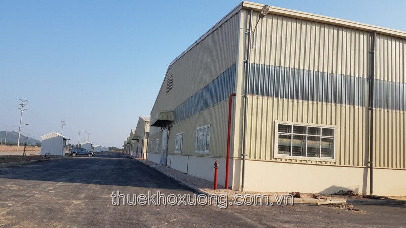 Factory/Warehouse/Workshop for lease in Quang Chau Industrial