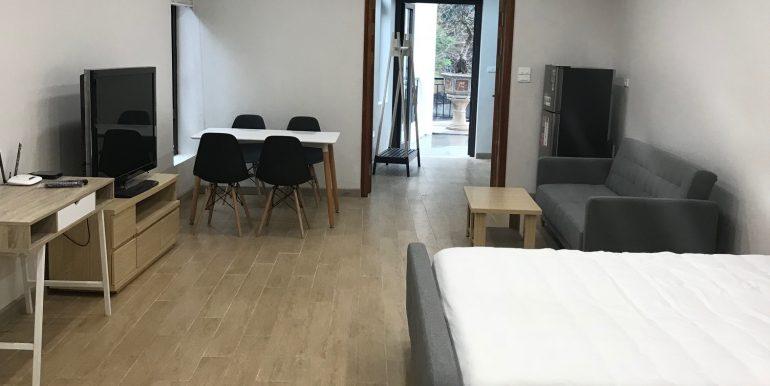 Serviced studio apartment