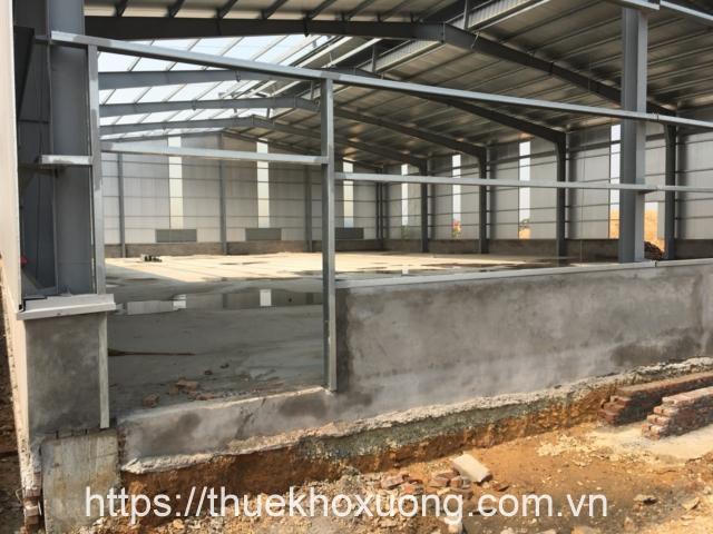 Cho thuê nhà xưởng mới tại KCN Bá Thiện I
