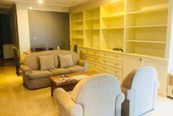 Căn hộ tại Ciputra diện tích 114m2 gồm 2 phòng ngủ, 2 phòng tắm, phòng khách và phòng ăn, nội thất đầy đủ tiện nghi cao cấp