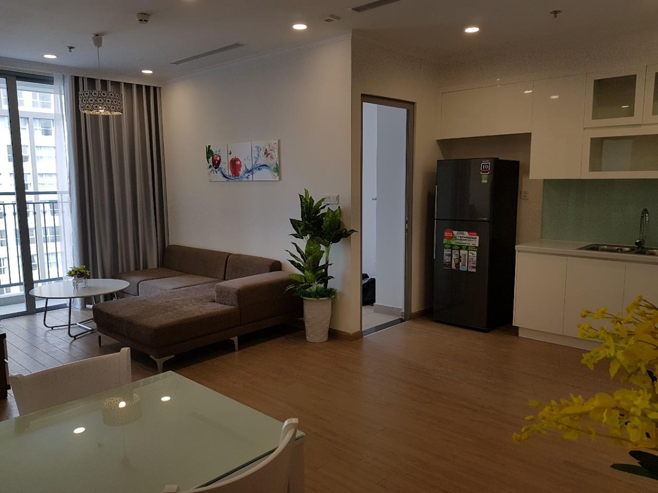 Cho thuê căn hộ 2 ngủ tại Vinhomes Gardenia