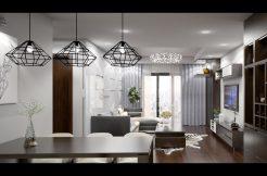 Cho thuê căn hộ 3 ngủ tại Goldmark City