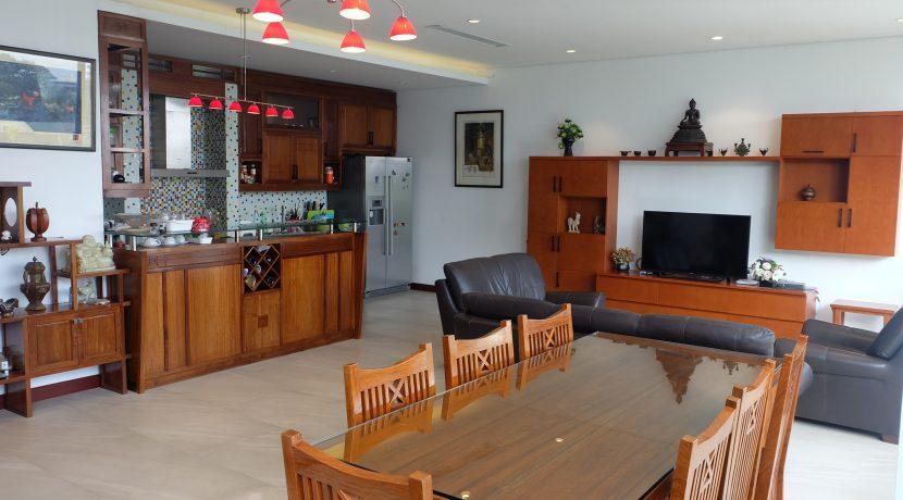 Kitchen + Living Room 01