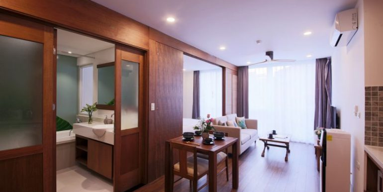 serviced apartment for rent in dao tan