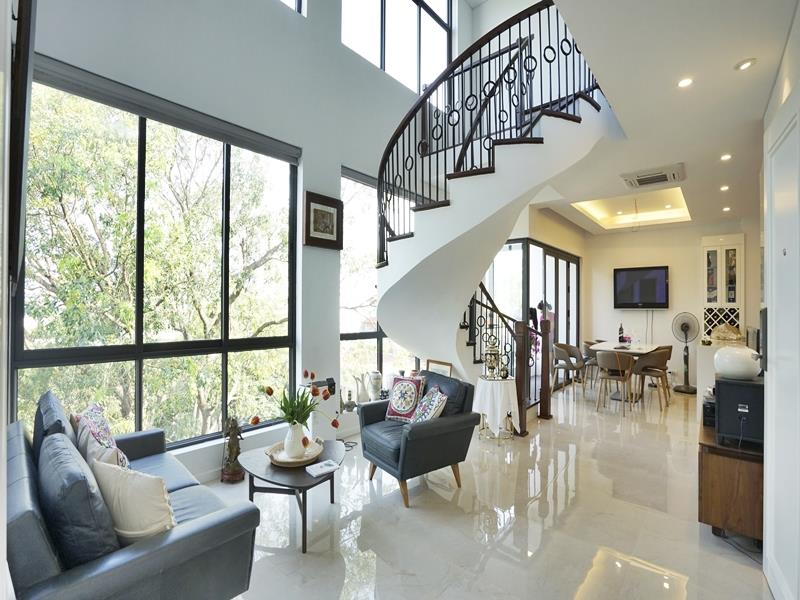 Brandnew Duplex view Westlake for rent in Tay Ho
