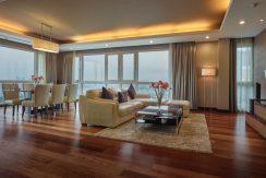 High-end duplex penthouse