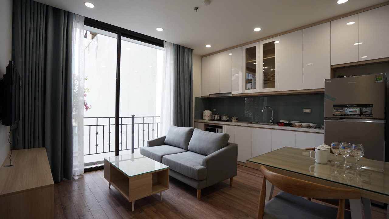Serviced Apartments near Japanese Embassy Hanoi for rent