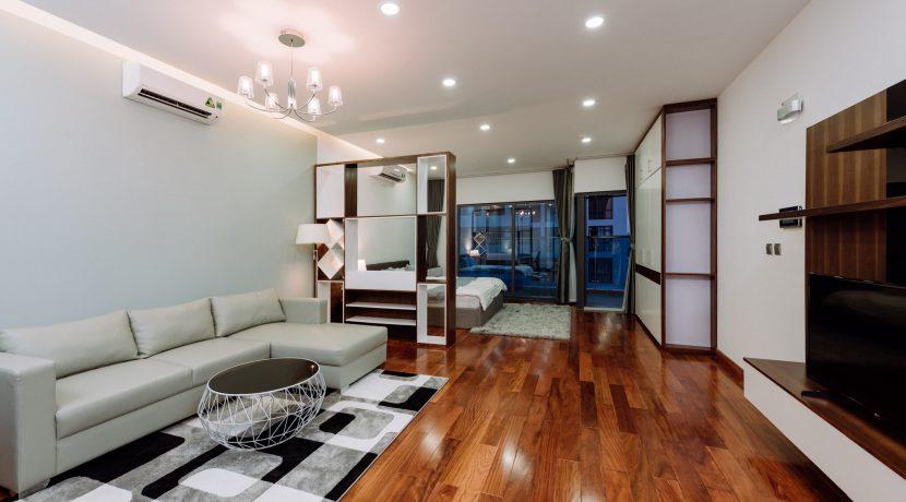 Serviced Apartment Trang An complex