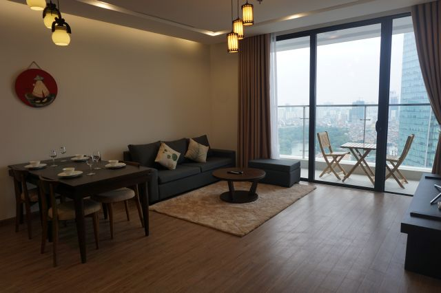 Two-bedroom Apartment Vinhomes Metropolis Lieu Giai