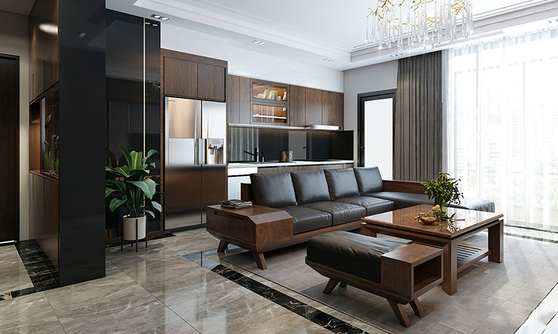 Sophisticated Apartment Vinhomes Metropolis Lieu Giai for rent