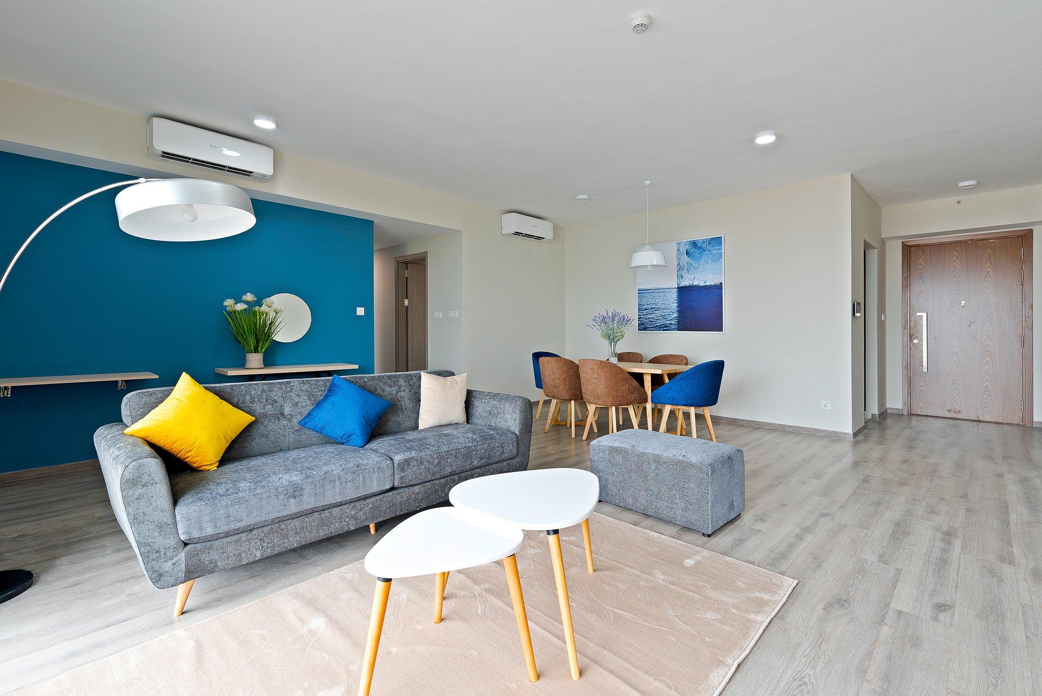Budget 3 bedroom modern interior apartment Ha Dong