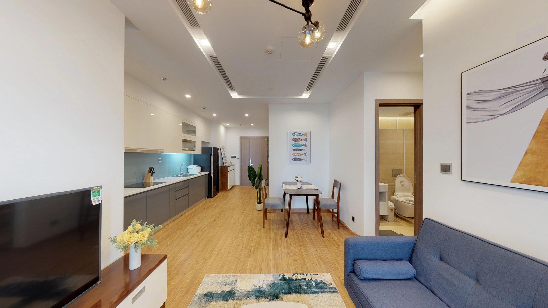 One bedroom Vinhomes Metropolis luxury apartment