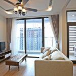 Moden Apartment Metropolis Lieu Giai for rent