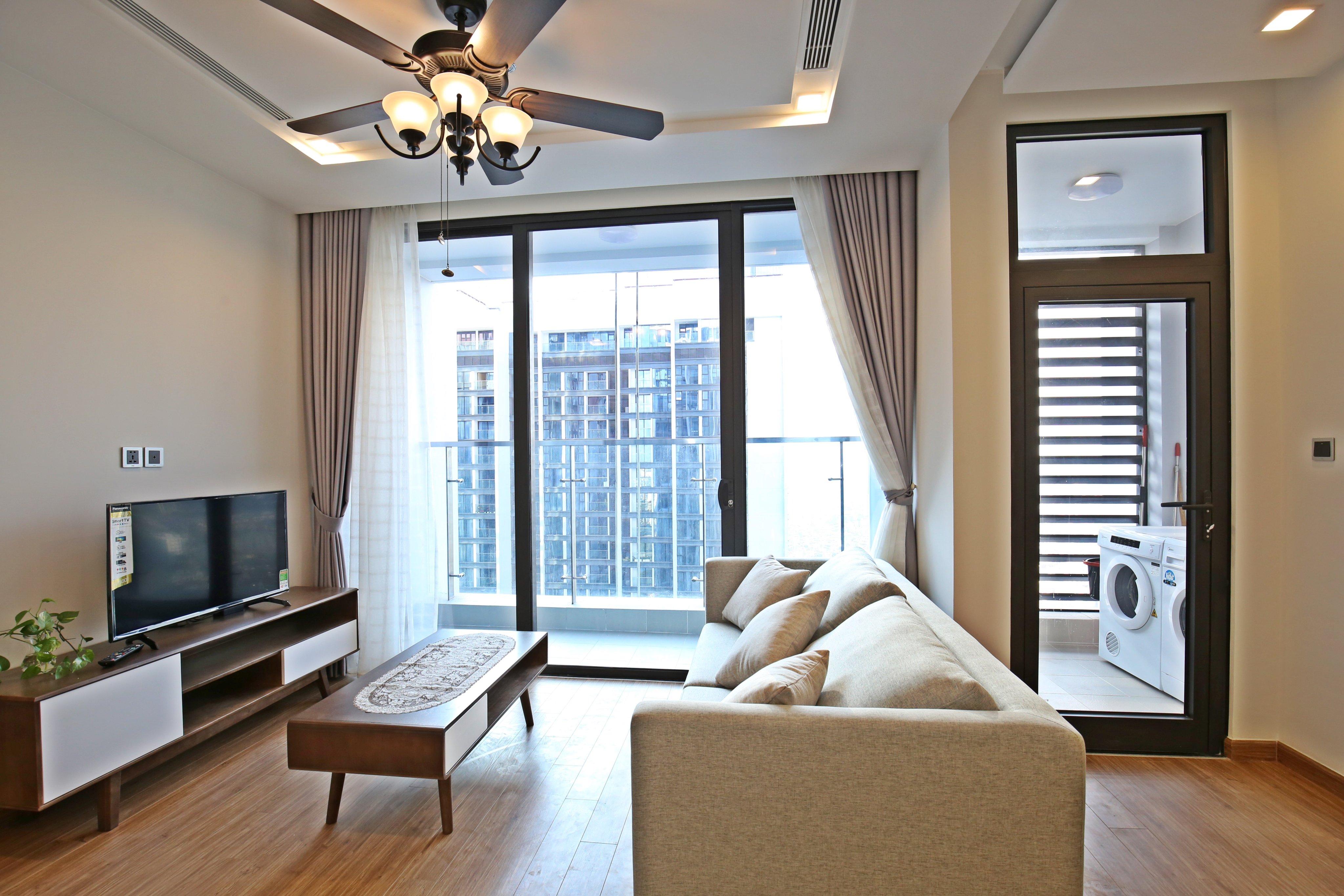 Modern Apartment Metropolis Lieu Giai for rent