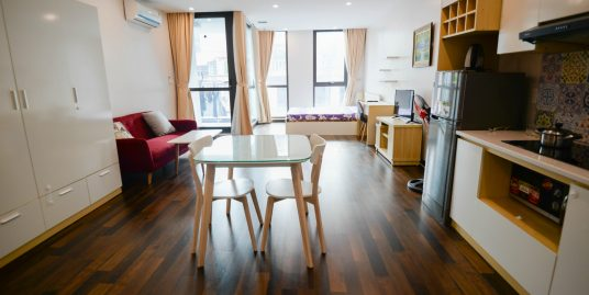 Vong Thi studio serviced apartment for rent