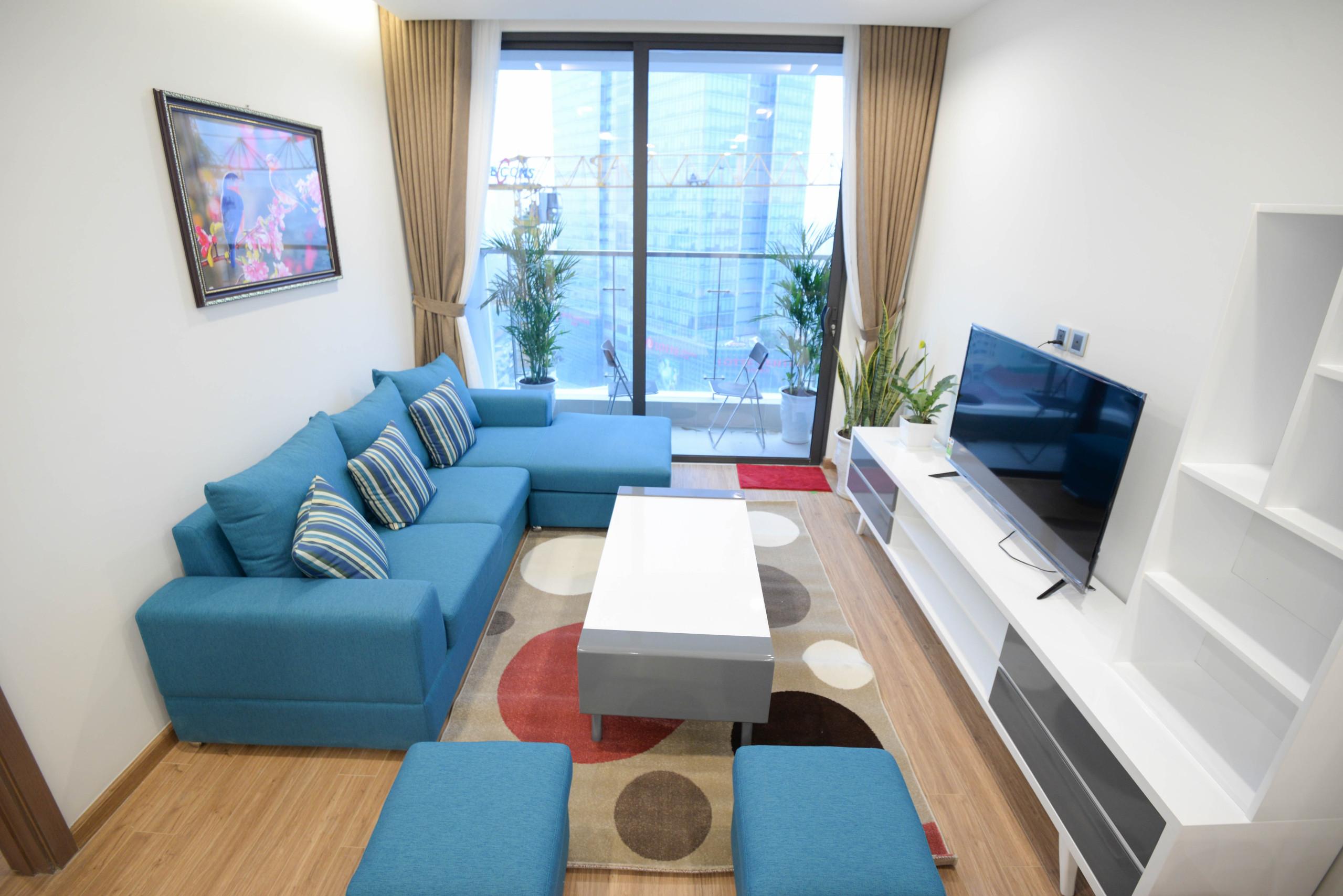 2 bedroom beautiful Metropolis apartment Lieu Giai