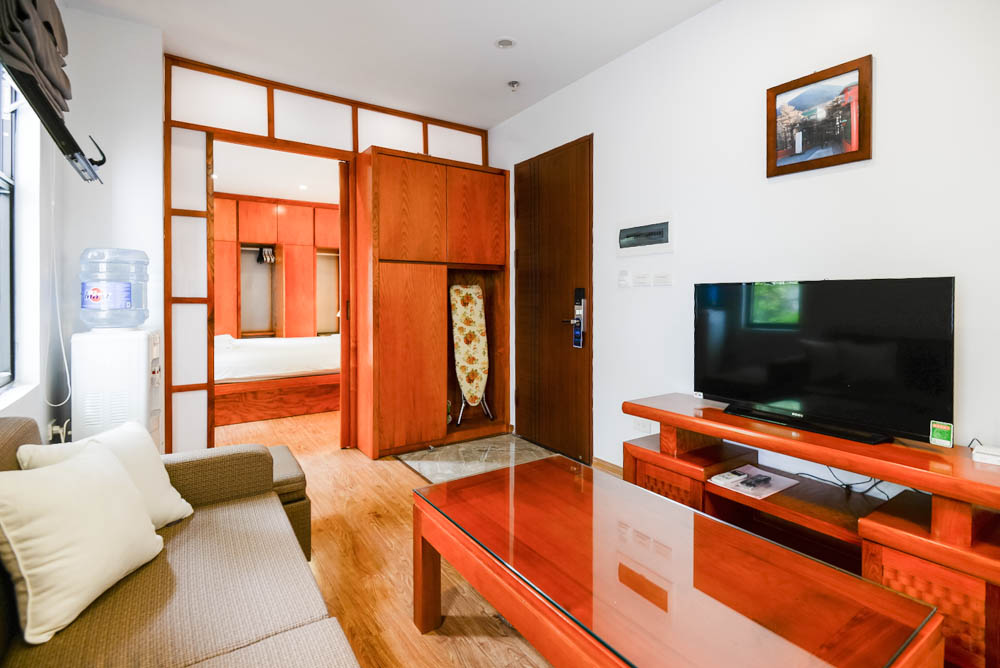 One bedroom apartment in Hanoi city's Japanese town