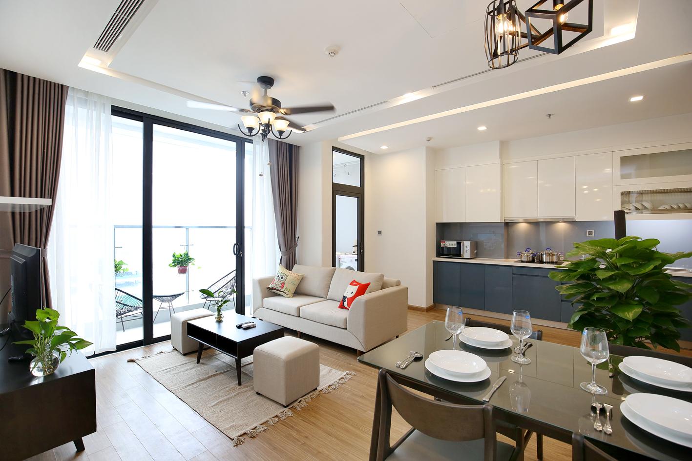 New Apartment Vinhomes Metropolis for rent