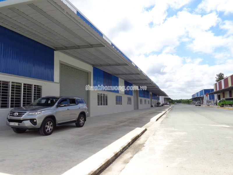 Nhà Xưởng cho thuê tại Bầu Bàng (Bình Dương)