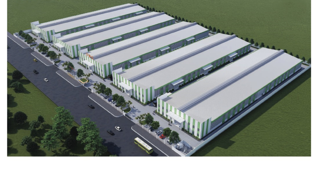 Factories in Yen Phong Industrial Park II for lease