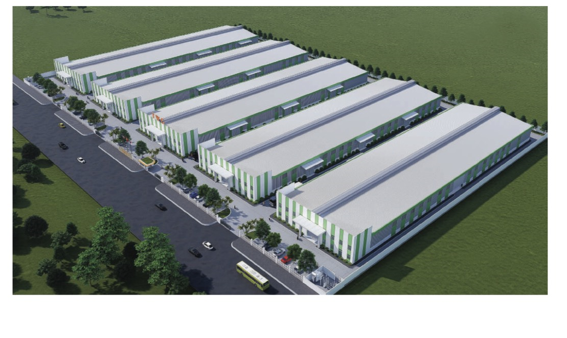 Factories in Yen Phong Industrial Park II for lease