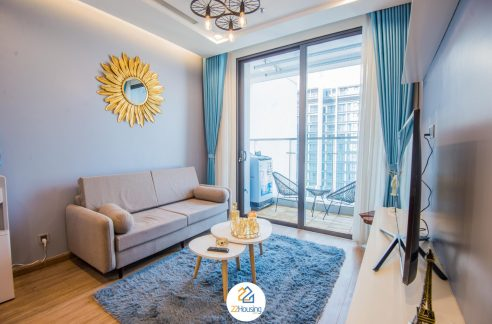 one bedroom apartment in vinhomes metropolis