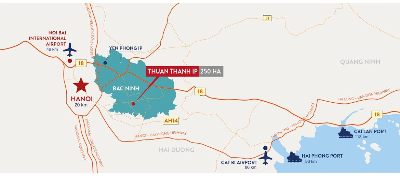 map Thuan Thanh