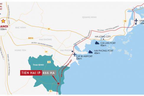 map Tien Hai