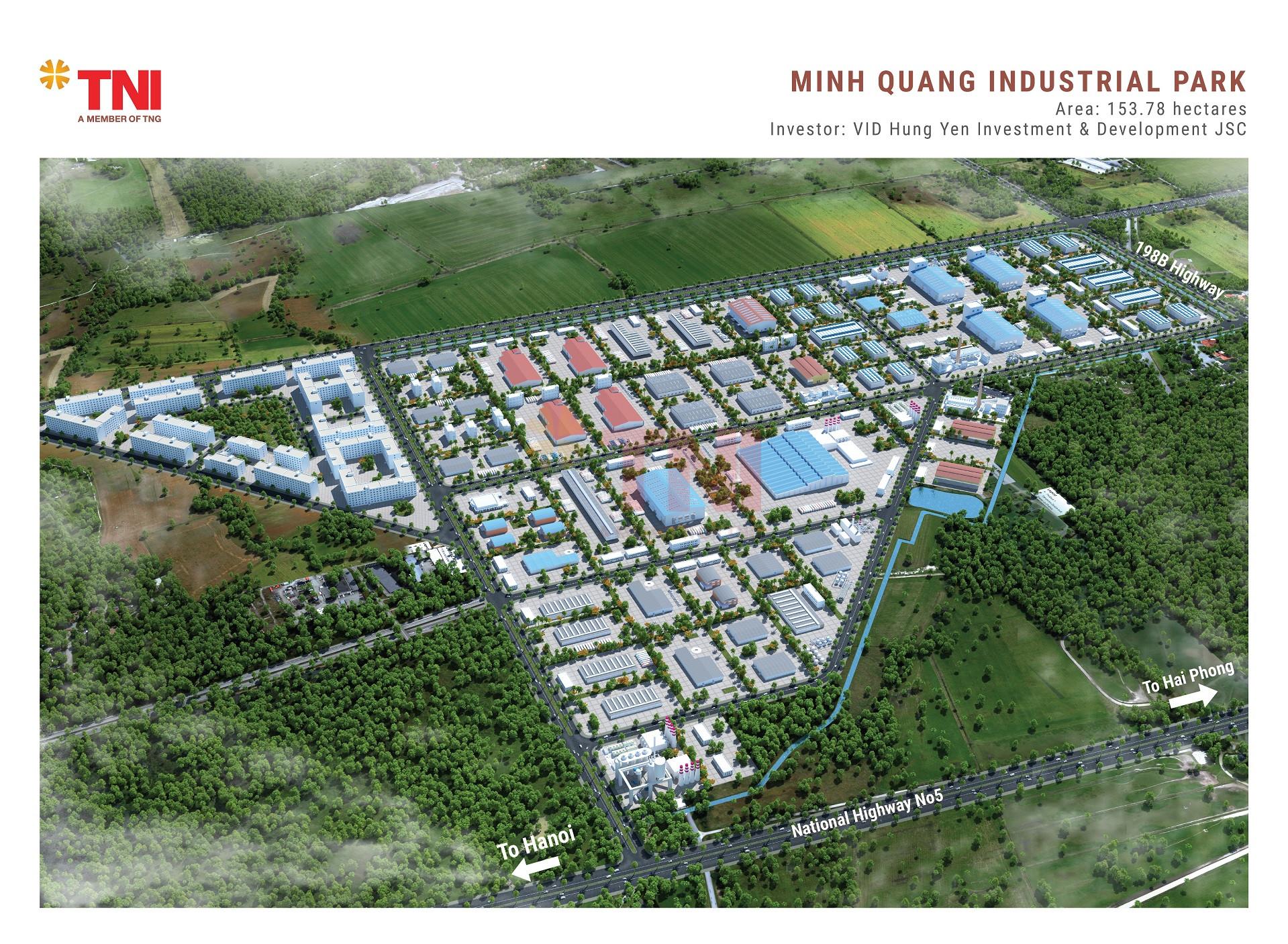 Khu Công Nghiệp Minh Quang – Mỹ Hào, Hưng Yên
