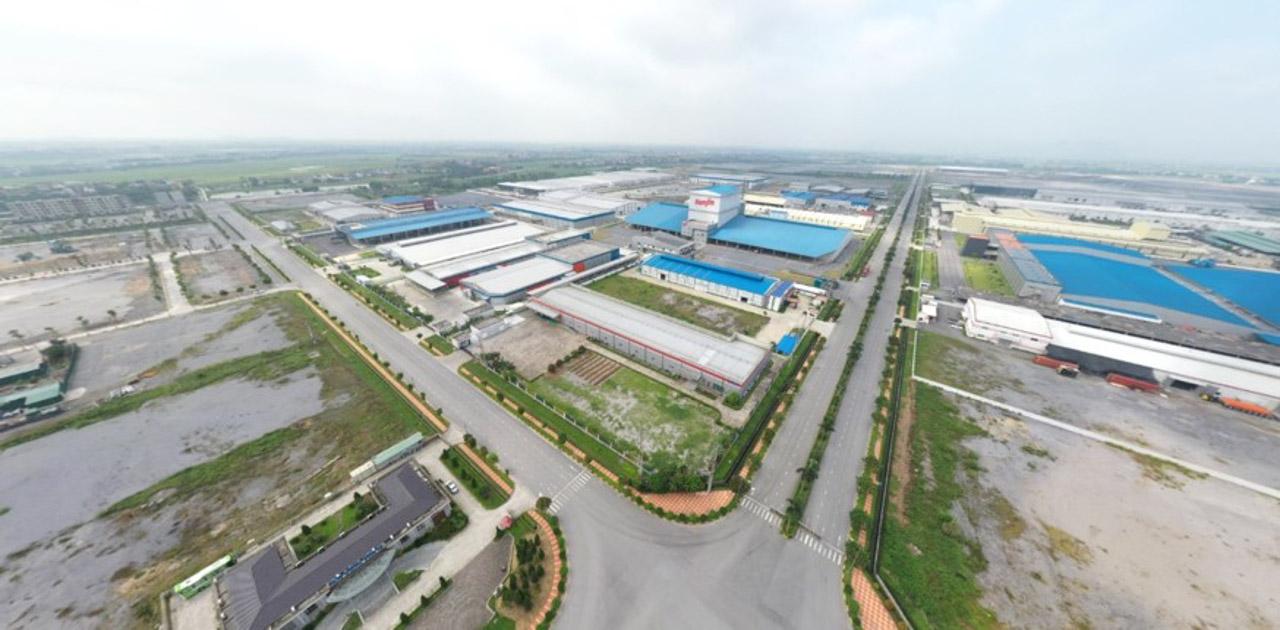 Factory for rent in Dong Van Industrial Park 4- Ha Nam Province