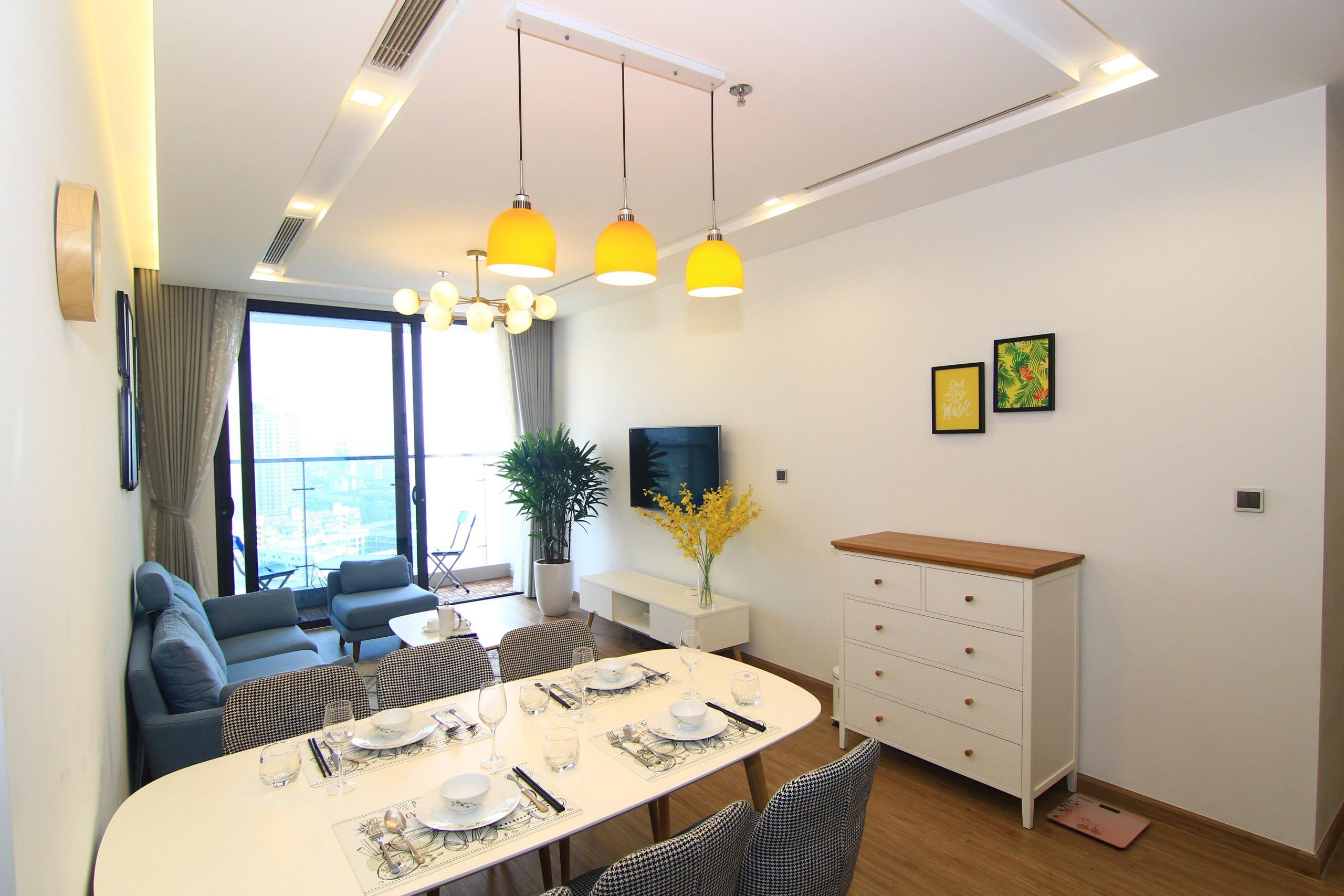 Apartment for Rent in Vinhomes Metropolis Lieu Giai