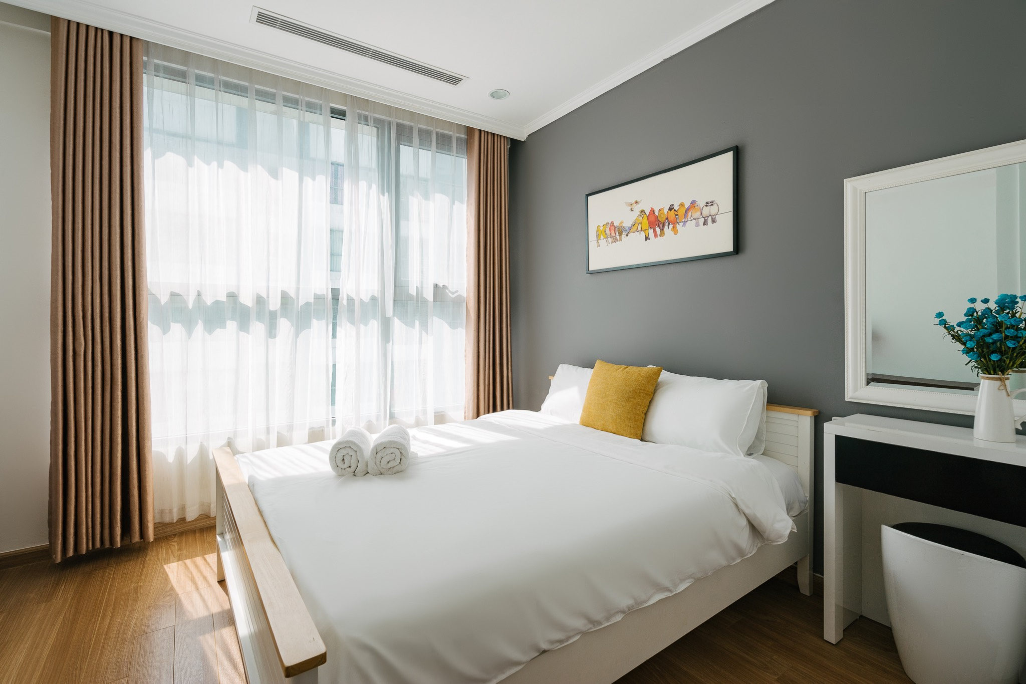 Serviced Apartment in Times City/Long-Term and Short-Term